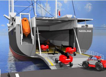 Soutien de Manitou Group au projet de transport maritime NEOLINE