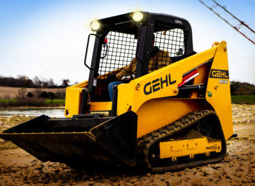 The Gehl RT 105 acclaimed in the United States