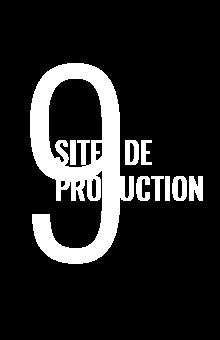 sites de productions