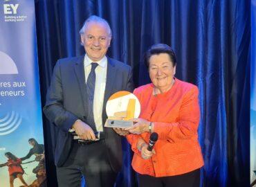 Jacqueline Himsworth et Michel Denis élus Entrepreneurs de l'Année pour la région Ouest